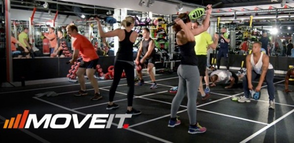 MOVE IT – Escape Fitness grupu nodarbību koncepts