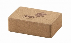 airex eco yoga cork block 1