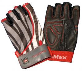 Mad Max fitness gloves Nine Eleven Zebra